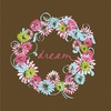 Dream Wreath Canvas Reproduction