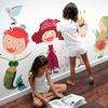 Dress Me Up Fabric Wall Decals