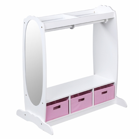 Dress-Up Storage Center - White