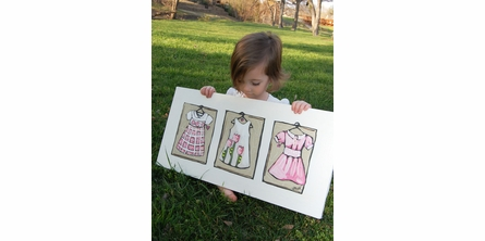 Dresses Canvas Reproduction