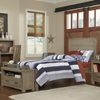 Driftwood Highlands Alex Panel Bed