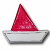 Dsitressed Barco Boat Red Drawer Pull