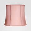 Duchess Medium Pink Silk Shade