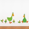 Duck and Ducklings Wall Decal
