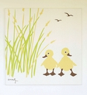 Duck Organic Cotton Wall Print
