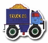 Dump Truck Blue Drawer Pull