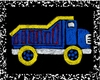 Dump Truck - Recess II Canvas Reproduction
