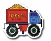 Dump Truck Red Drawer Pull