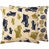 Dump Trucks Large Throw Pillow