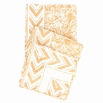Durbar Yellow Throw Blanket