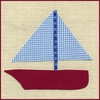 E.J.'s Sailboat Canvas Reproduction