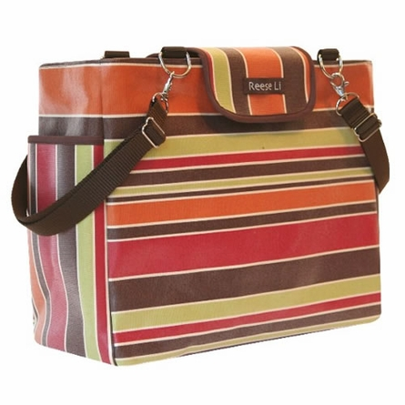 Earth Stripe Lexington Diaper Bag