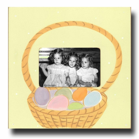 Easter Basket Picture Frame