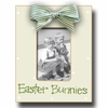 Easter Bunnies Leaf and Lime Picture Frame