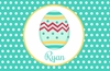 Easter Egg Personalized Placemat
