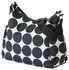 Ebony Dessert Dot Hobo Diaper Bag