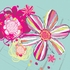 Eclectic Flowers Poster Wall Decal
