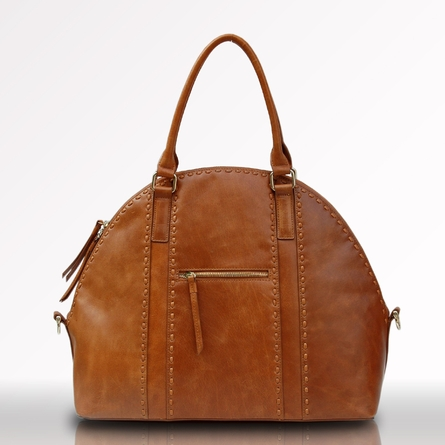 Eden Leather Diaper Bag