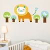 Edgar the Lion Wall Decal