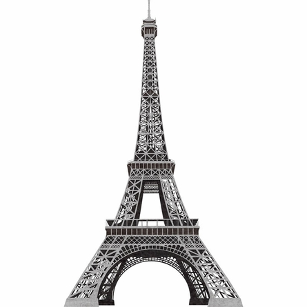 Eiffel Tower Peel & Stick Wall Decal