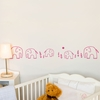 Ele Elephant in Pink Wall Decal