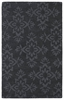 Elegant Floral Imprints Classic Rug in Charcoal