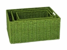 Elements Storage Bins - Peridot