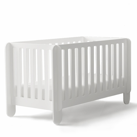 Elephant Crib in White