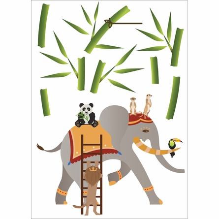 On Sale Elephant Fantasy Wall Decals