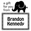 Elephant Gift Personalized Self-Inking Stamp