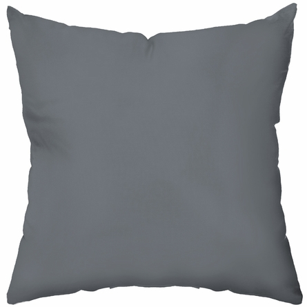 Elephant in Warm Grey Throw Pillow