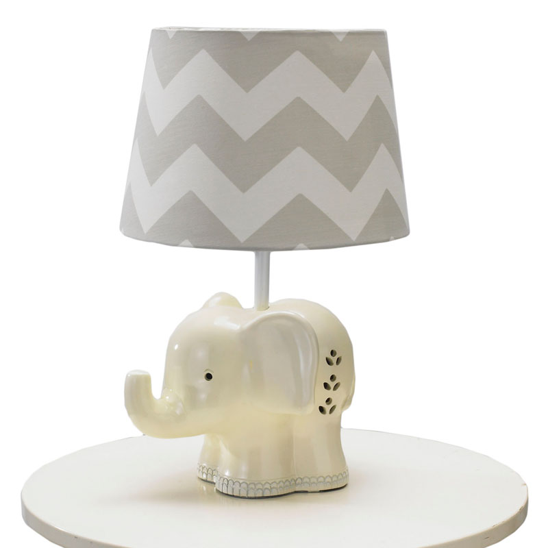 elephant lamp base by lolli living. Black Bedroom Furniture Sets. Home Design Ideas