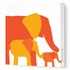 Elephants Canvas Wall Art I