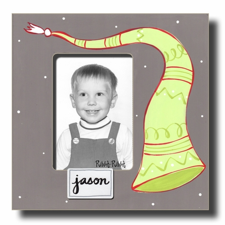 Elf Hat - Flannel Picture Frame