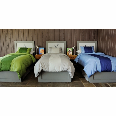Eli Grey Bedding Set