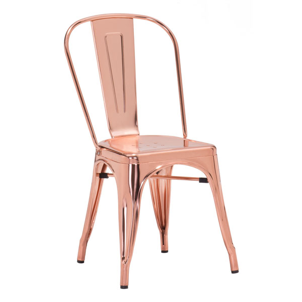 Elio Dining Chair Rose Gold by Zuo RosenberryRoomscom : elio dining chair rose gold 3 from rosenberryrooms.com size 600 x 600 jpeg 58kB
