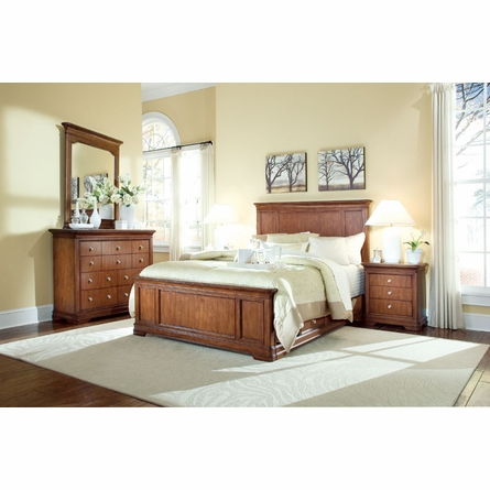 Elite Classics Panel Bed