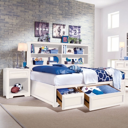 Elite Reflections Bookcase Bed