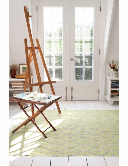 Elizabeth Indoor/Outdoor Rug in Green