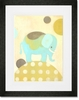 Ella Elephant Framed Art Print
