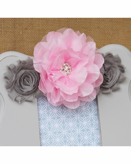 Ella Gray Scalloped Picture Frame