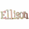 Ellison Owls Hand Painted Wall Letters