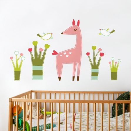 Ema the Fawn Wall Decal