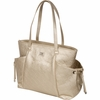 Embossed Gold Diaper Bag