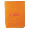 Embroidered Beach Towel in Orange