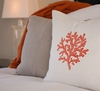 Embroidered Icon Linen Pillow