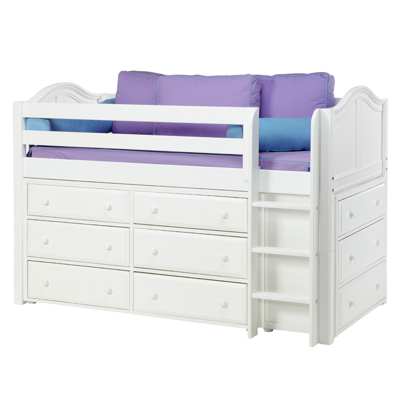 Twin Bed Storage And Dresser