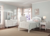 Emma Bed with Tall Headboard and Footboard