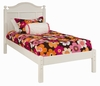 Emma Bed with Tall Headboard and Low Footboard