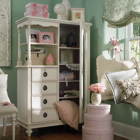 Emmas Treasures Mirror Door Chest